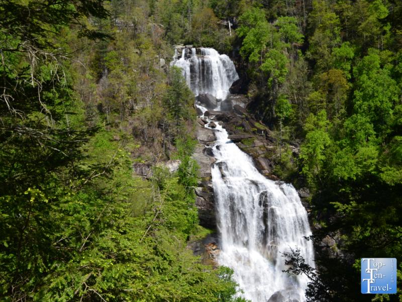 Whitewater Falls in Western North Carolina