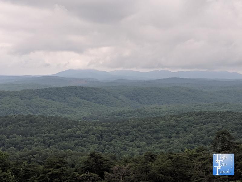 Beautiful views at Bald Rock Heritage Preserve in Upstate South Carolina