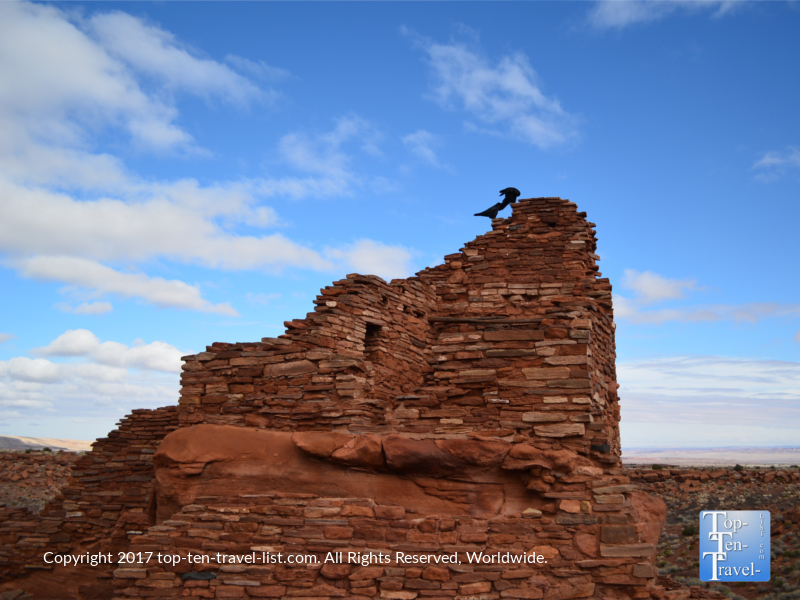 Ancient ruins at Wupatki National Monument in Northern Arizona