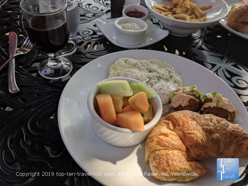 Passerelle Bistro breakfast in Greenville, South Carolina