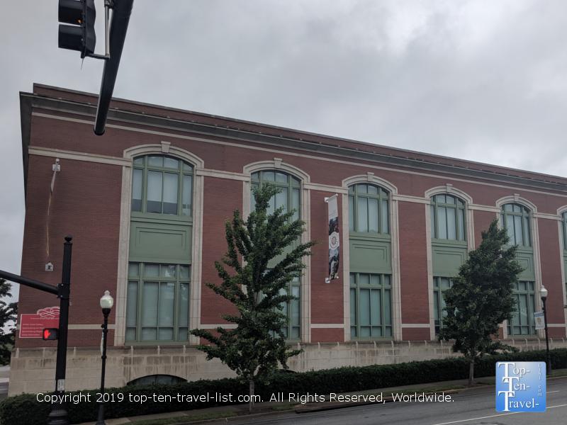 Chapman Cultural Center in Spartanburg, South Carolina