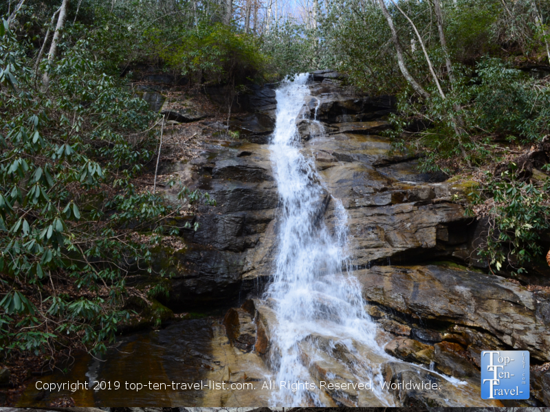 Jones Gap waterfall in Upstate South Carolina