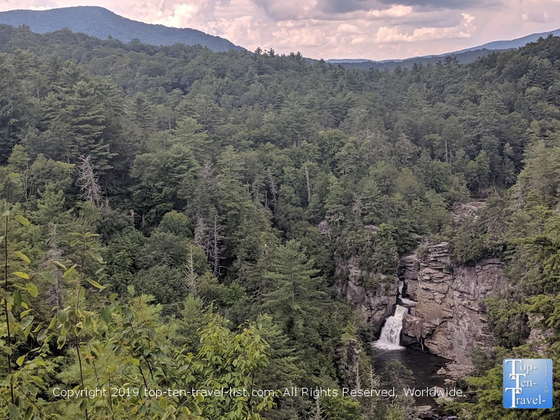 Gorgeous Linville Falls in Western North Carolina