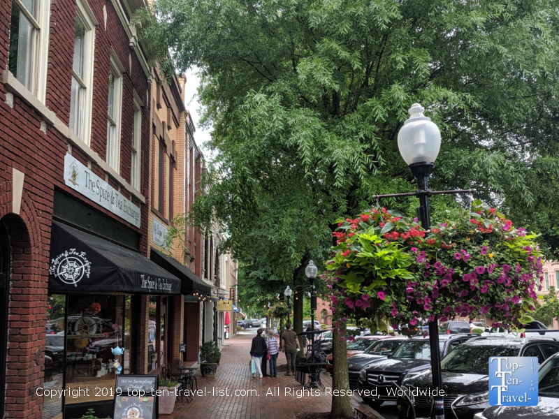 downtown Spartanburg, South Carolina