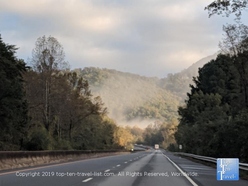 Cherokee Foothills Scenic Drive near Greenville, South Carolina