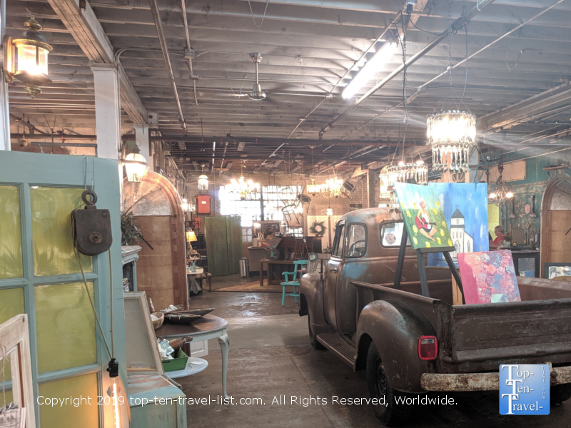 The Vintage Warehouse in Spartanburg, South Carolina