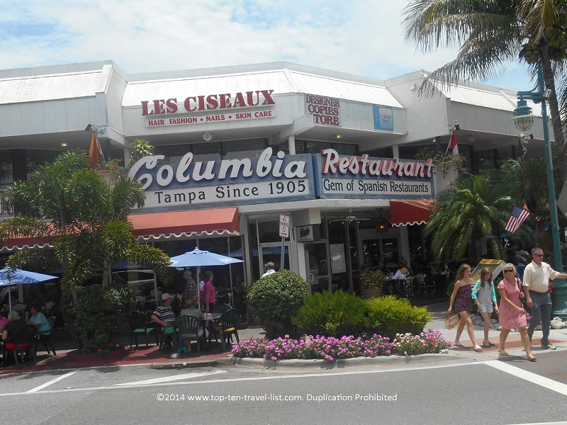 Columbia restaurant in Sarasota, Florida