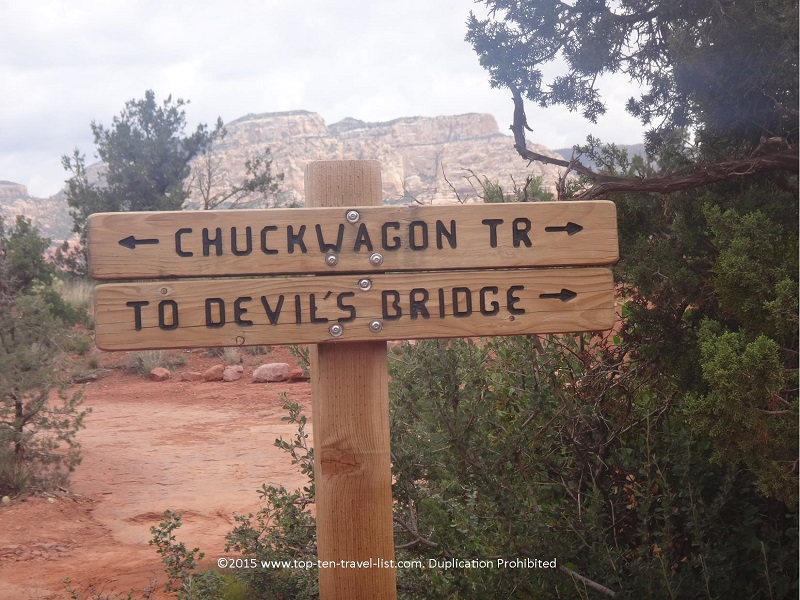 Devil's Bridge hike in Sedona, Arizona