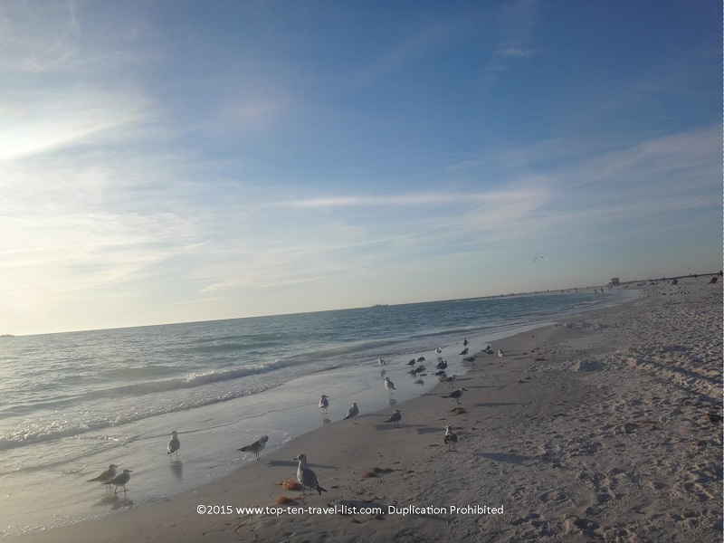 Beautiful Lido Beach in Sarasota, Florida