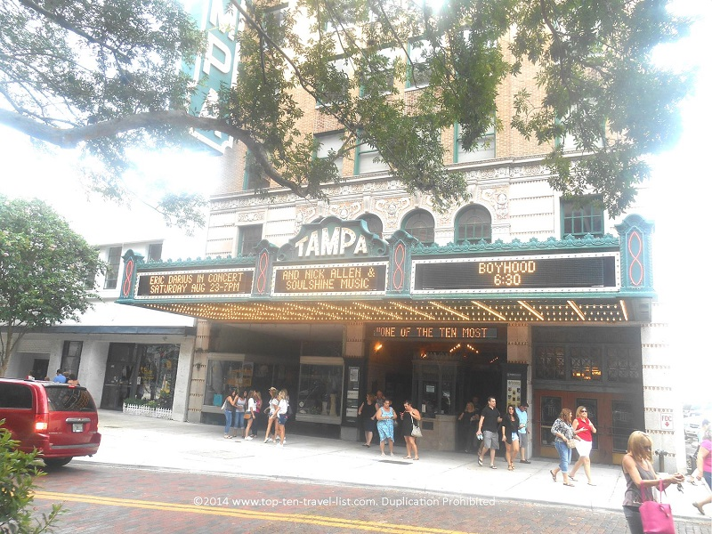 The historic Tampa Theater