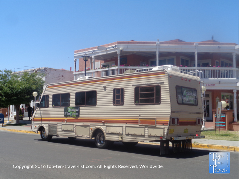 Breaking Bad RV tour in Albuquerque, New Mexico