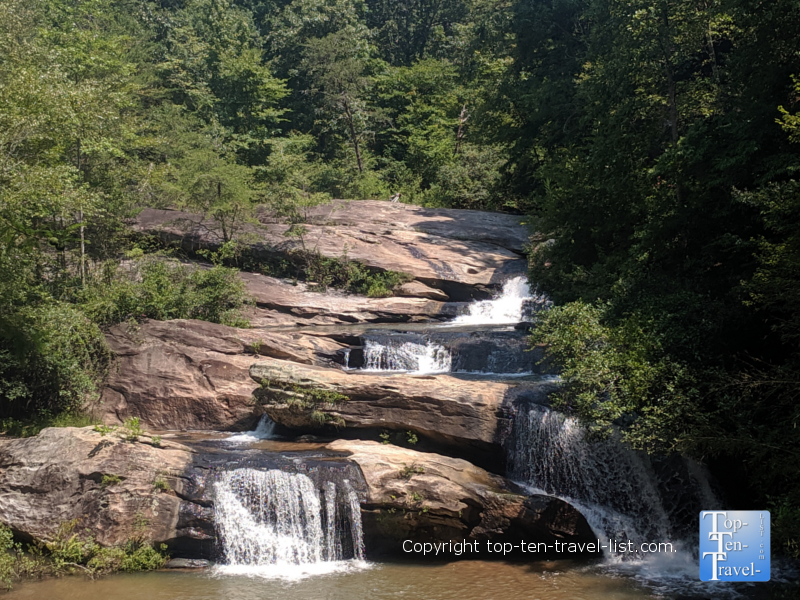 Chau Ram Falls in Upstate South Carolina