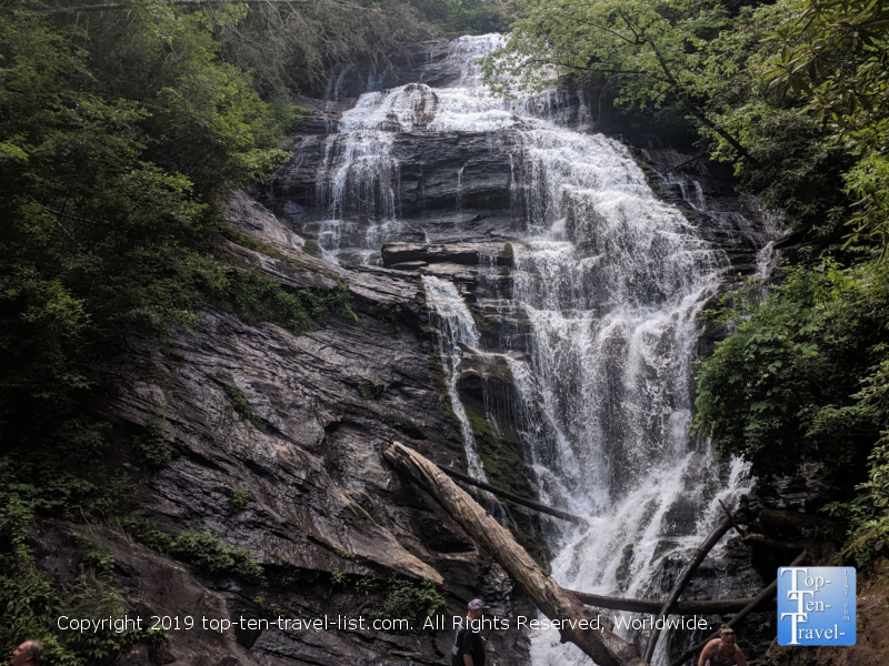King's Creek waterfall in Upstate South Carolina