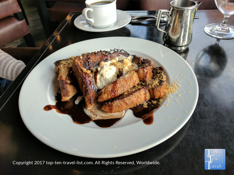 Mocha French Toast at Che-Ah-Chi at the Enchantment Resort in Sedona, Arizona
