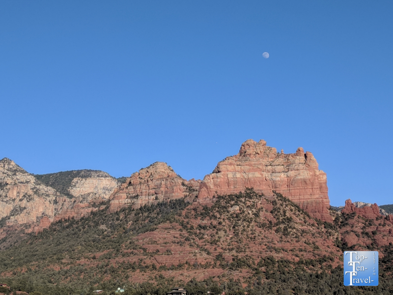 Gorgeous red rock scenery in Uptown Sedona