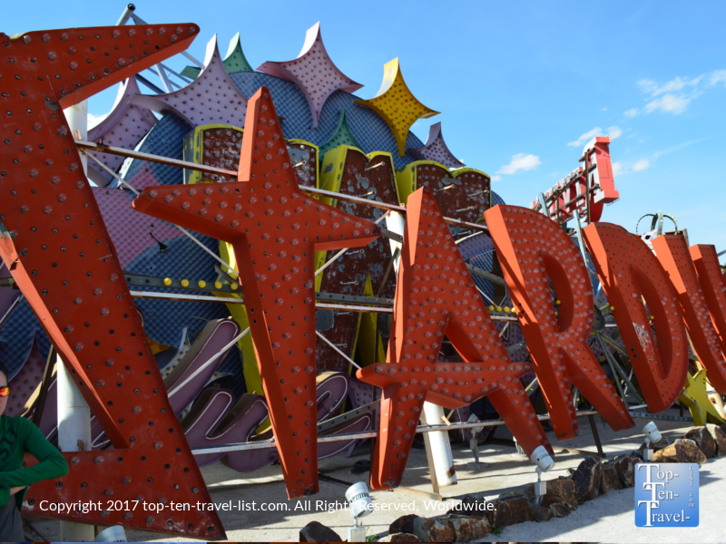 Stardust casino sign at The Neon Museum in Vegas