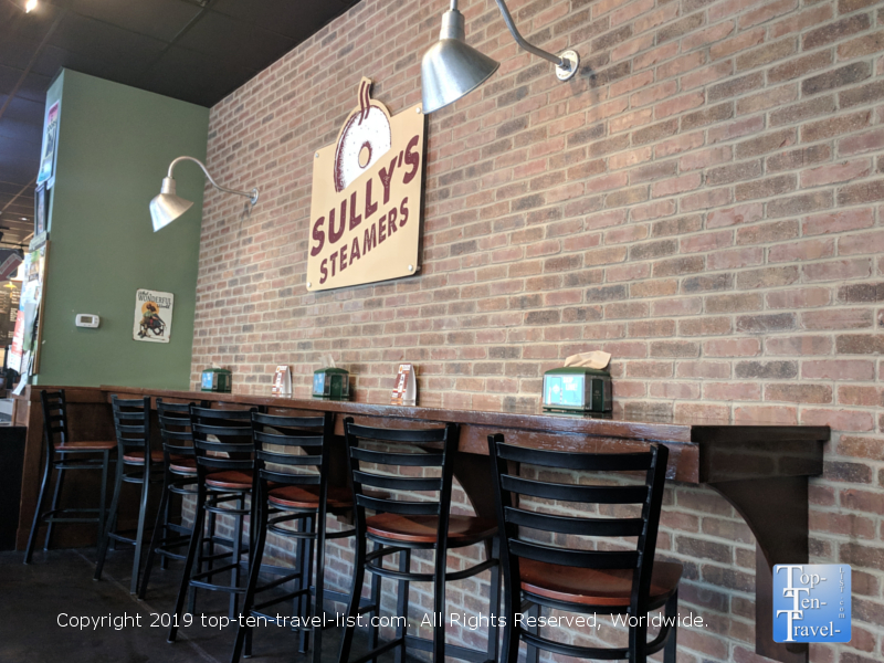 Sully's Steamers in downtown Greenville, South Carolina