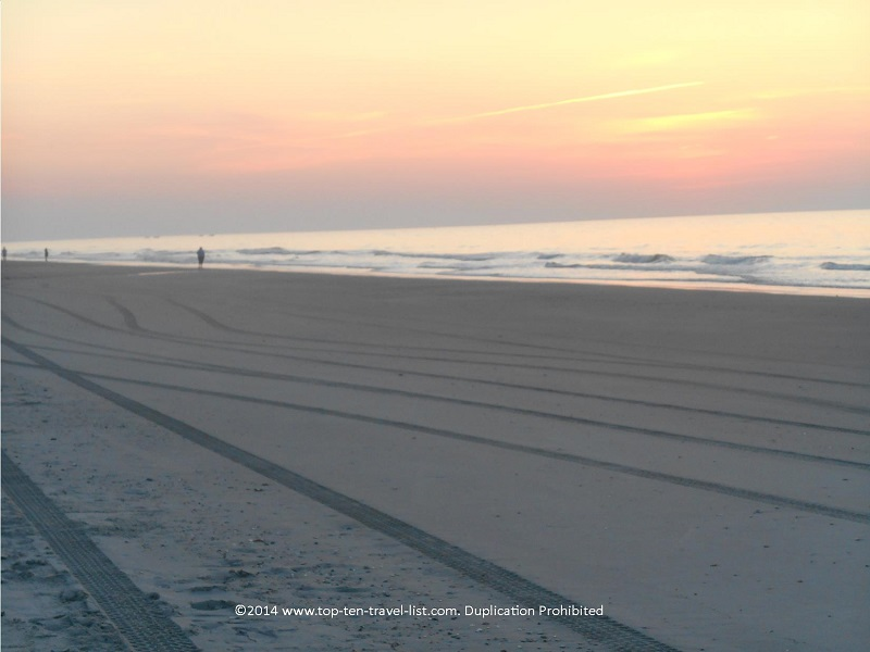 Pretty sunrise in Myrtle Beach, South Carolina