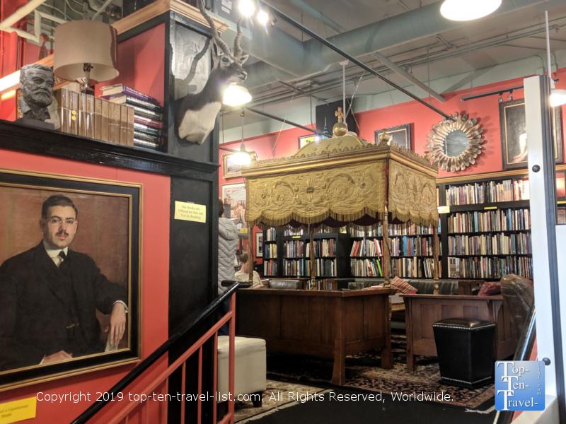 Battery Park Book Exchange in Asheville, North Carolina