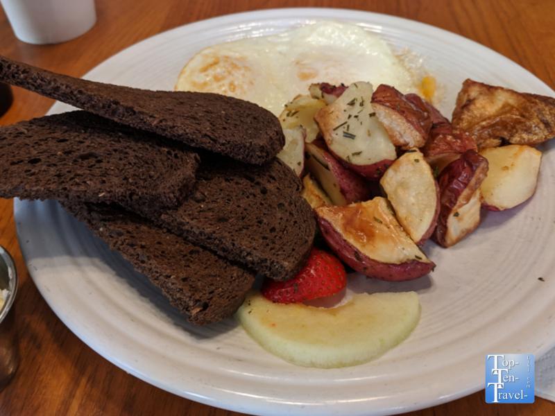 Breakfast at Corner Kitchen in Asheville, North Carolina