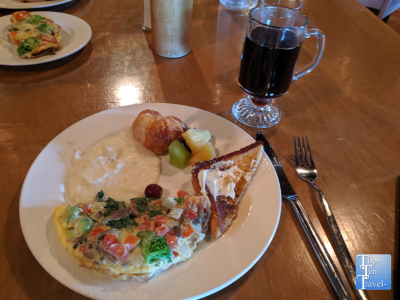 Brunch buffet at Soby's in Greenville, South Carolina