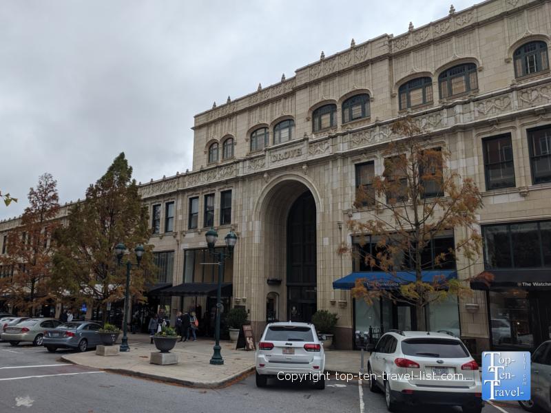 Historic Grove Arcade in downtown Asheville, North Carolina