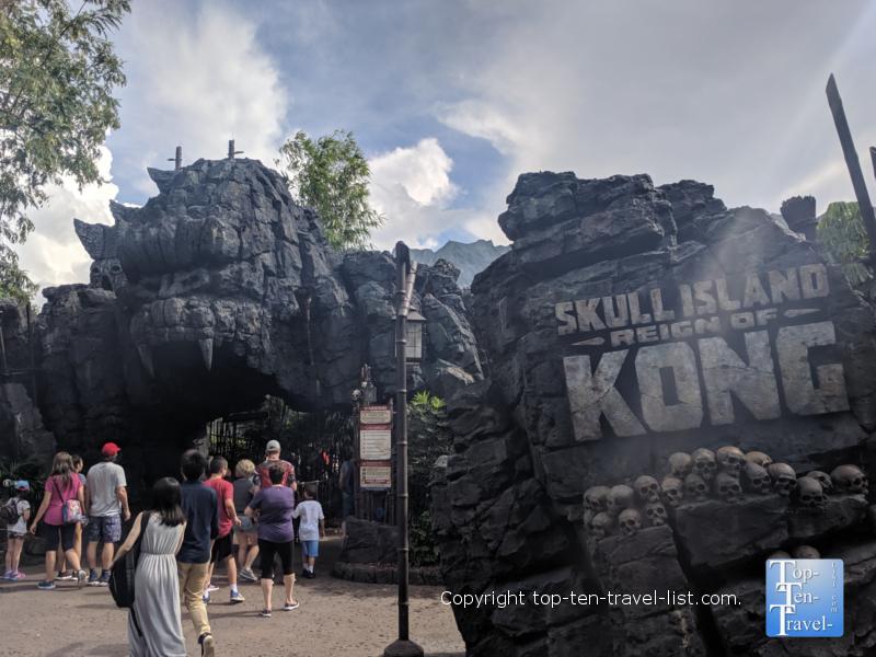 King Kong ride at Universal Studios in Orlando, Florida