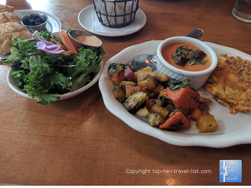 Farm Fresh Vegetable Plate at Tupelo Honey