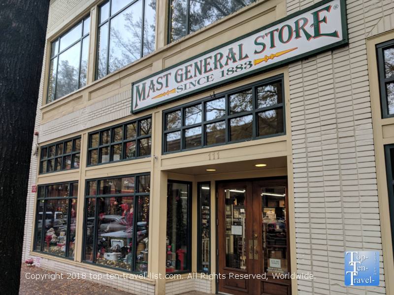 Mast General Store in downtown Greenville, South Carolina