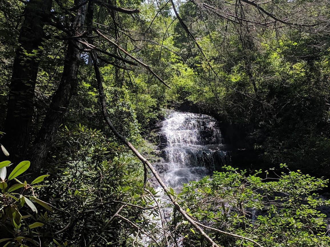 Miuka Falls in Upstate South Carolina
