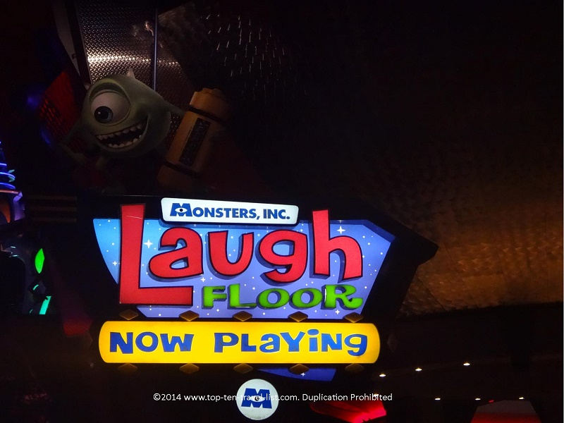 Monsters Inc Laugh Floor at Disney's Magic Kingdom in Orlando, Florida