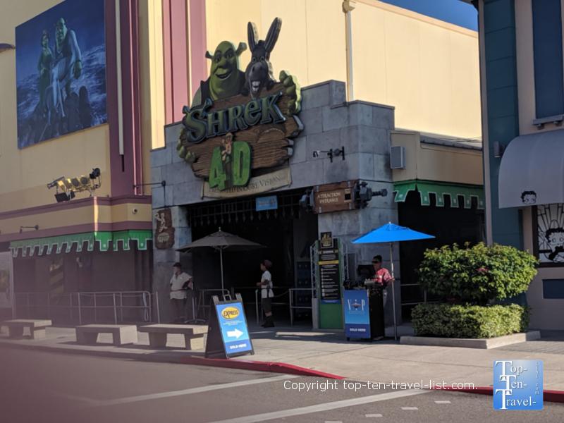 Shrek 4D ride at Universal Studios in Orlando, Florida
