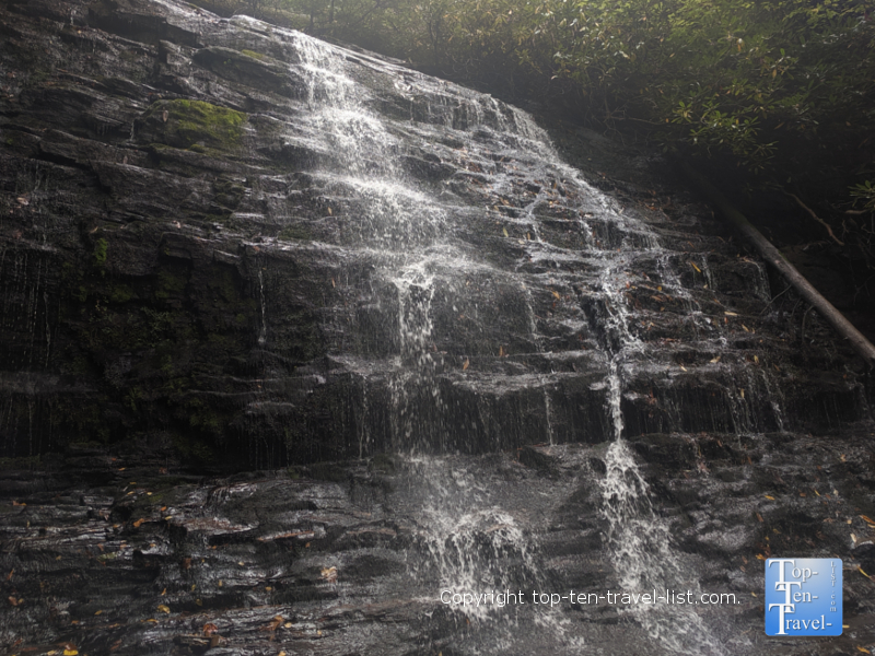 Spoonauger Falls in Upstate South Carolina