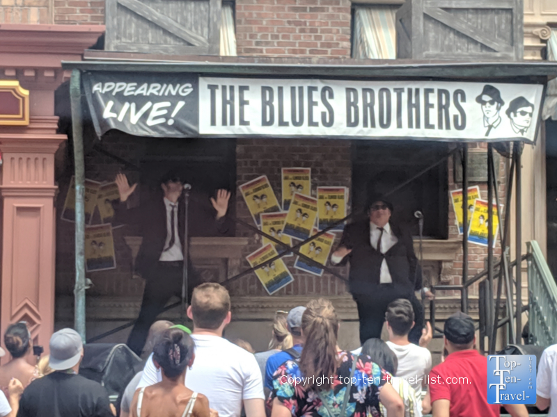 Blues Brothers show at Universal Studios in Orlando, Florida