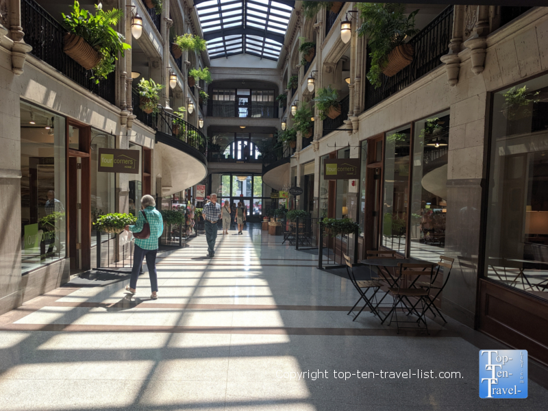 The Grove Arcade in downtown Asheville, North Carolina
