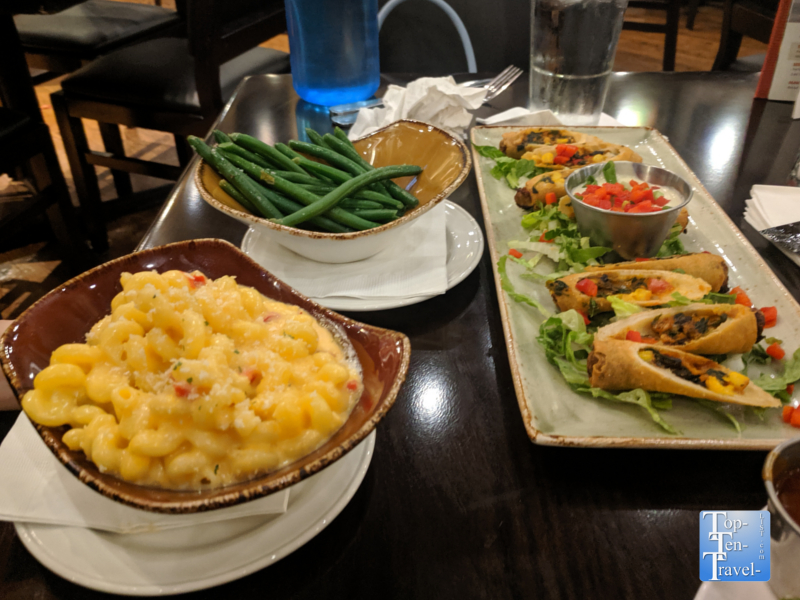 Comfort food at the Hard Rock Cafe in Orlando