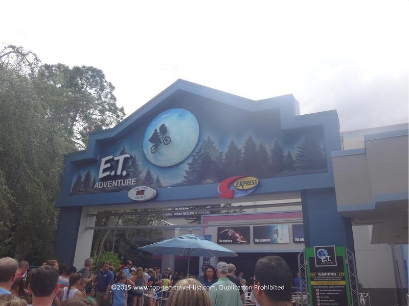 E.T. ride at Universal Studios in Orlando, Florida
