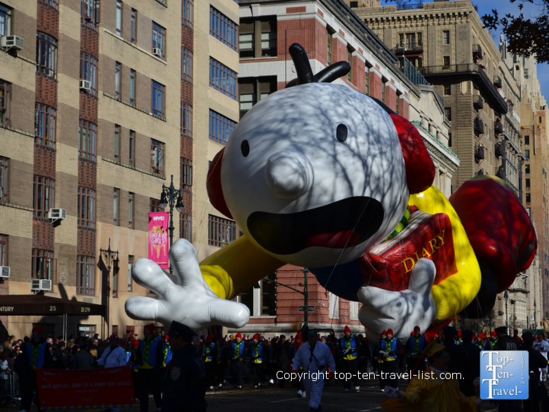 Charlie Brown in the Macy's Thanksgiving Day Parade