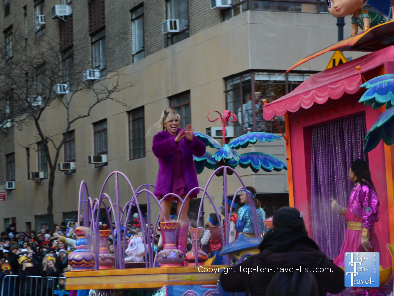 Debbie Gibson in the Macy's Thanksgiving Day Parade