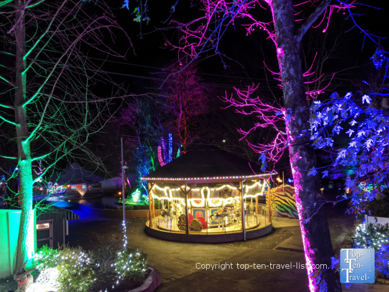 Elmwood Park Zoo Lights in Norristown, Pennsylvania