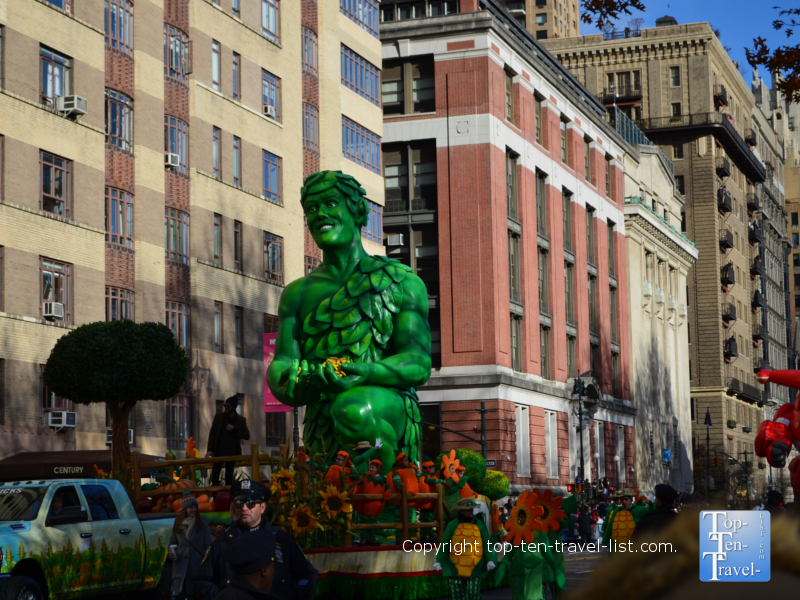 Green Giant in the Macy's Thanksgiving Day Parade