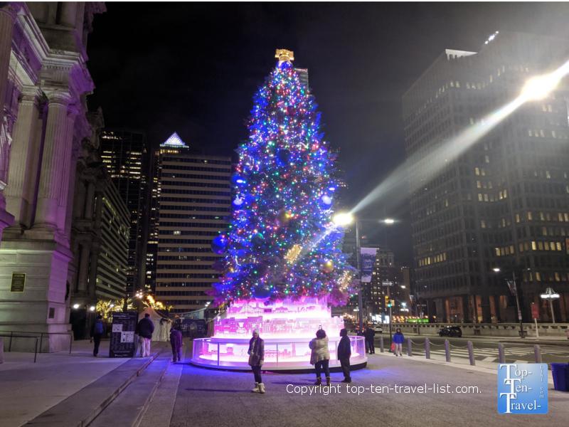 Philadelphia Holiday Tree