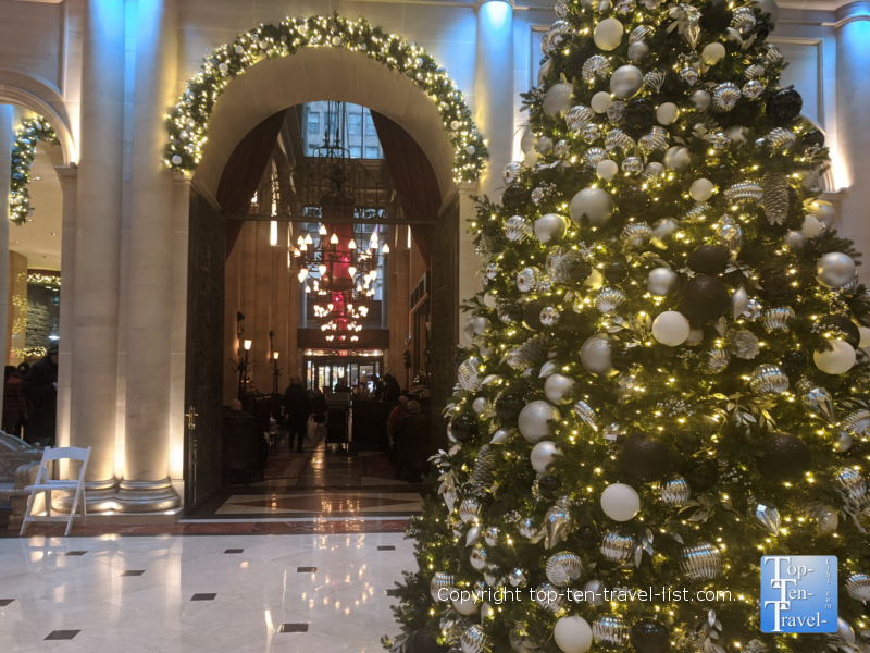 Parker Hotel NYC at Christmas