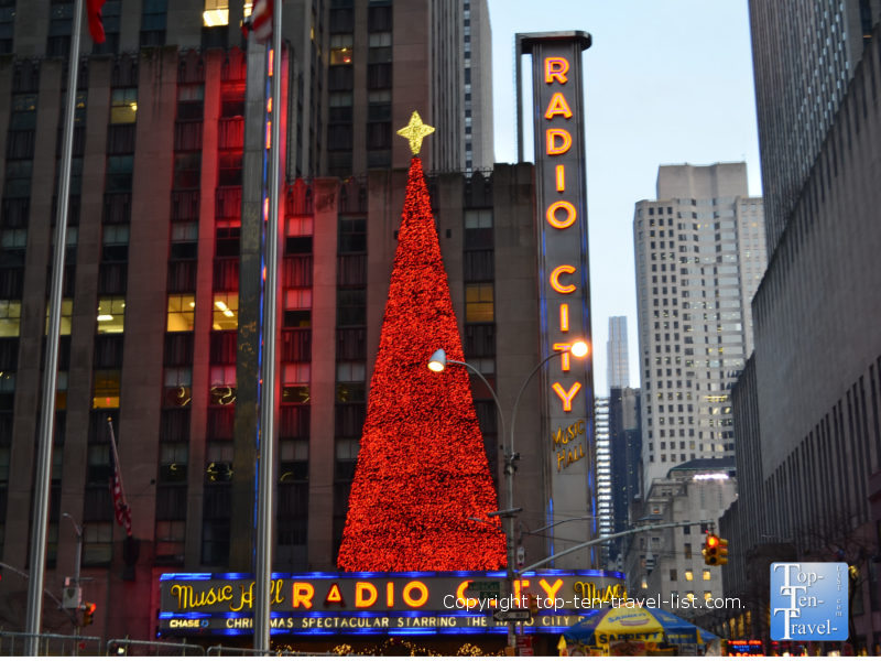 Christmas at Radio City Music Hall in NYC