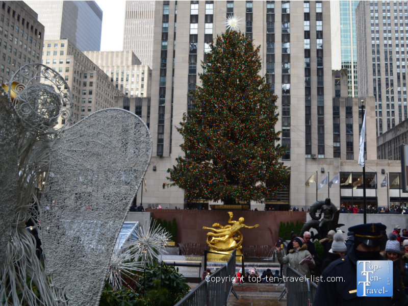 The amazing tree at Rockefeller Center in NYC