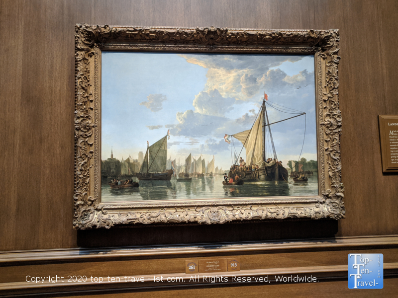 Aelbert Cuyp painting at the National Gallery of Art west building in Washington D.C.