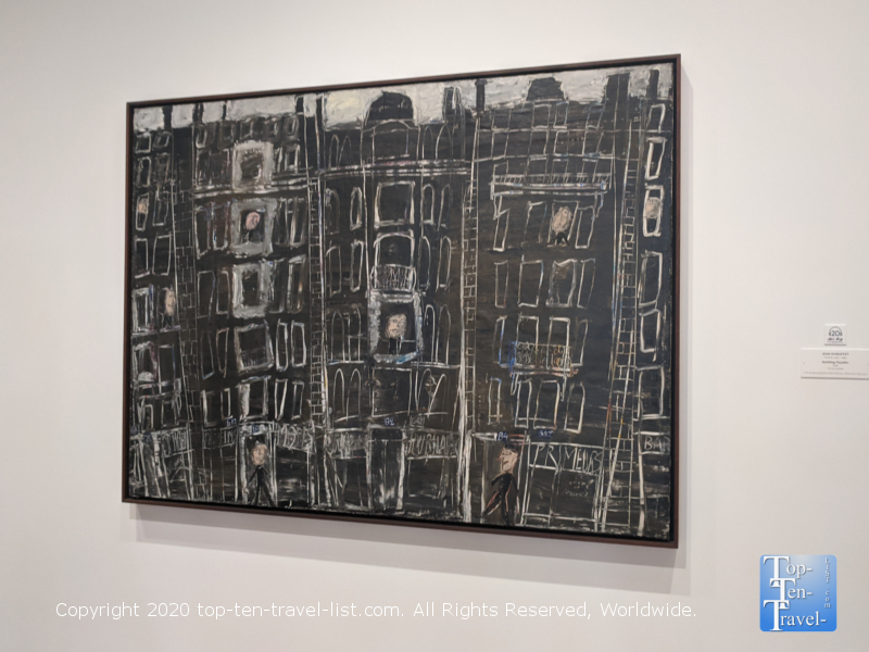 Jean Dubuffet artwork at the National Gallery of Art east building in Washington D.C.