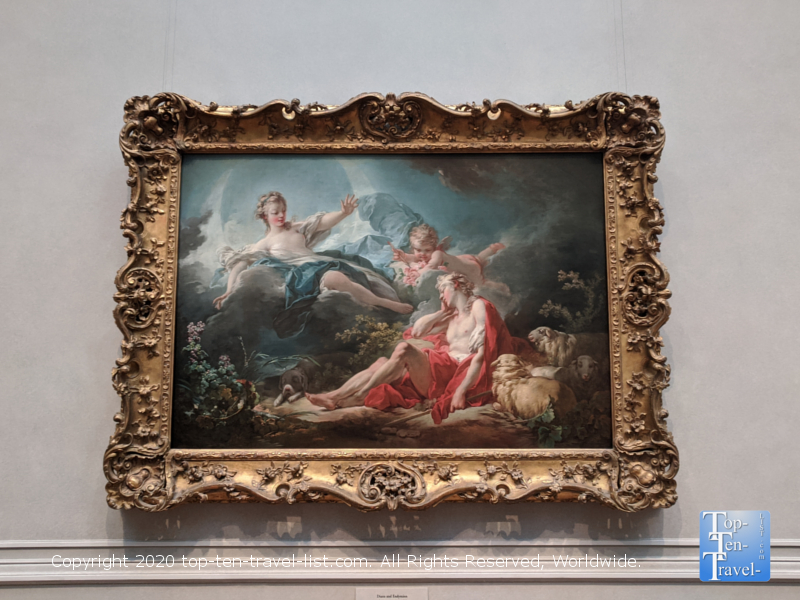 Jean Fragonard artwork at the National Gallery of Art west building in Washington D.C.