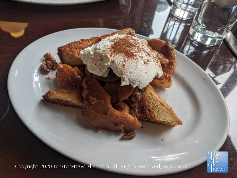 Caramel Apple French  Toast at Farmicia in Old City Philadelphia