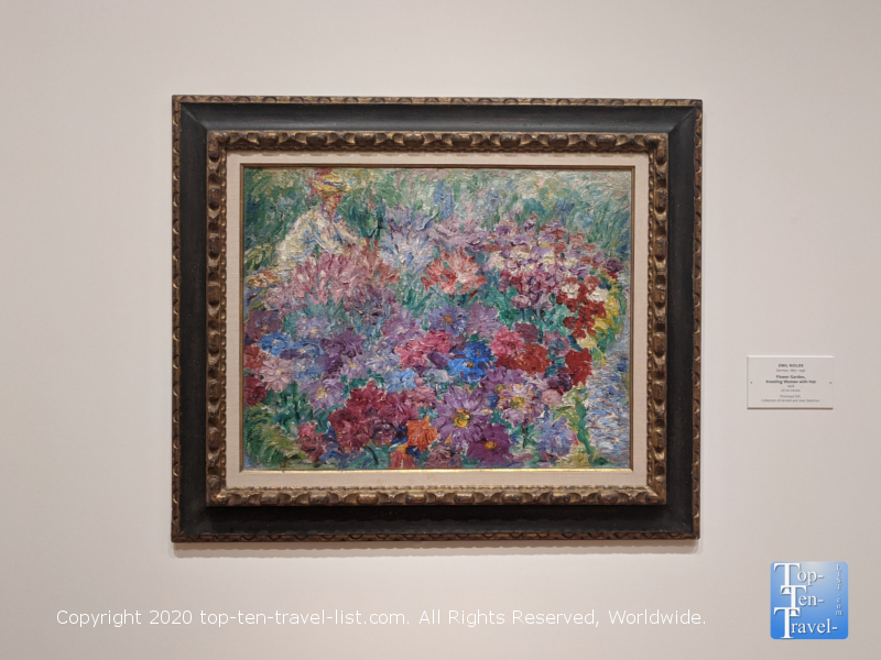 Emil Nolde artwork at the National Gallery of Art east building in Washington D.C.